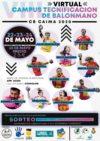 CAMPUS VIRTUAL TECNIFICACIÓN DE BALONMANO 22, 23 Y 24 MAYO 2020